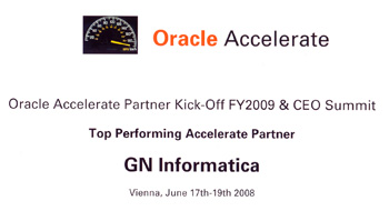 Top Performing Accelerate Partner